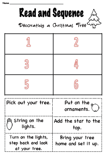 3rd grade printables for christmas