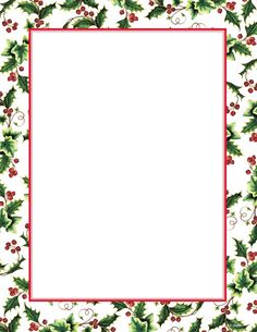 borders printables for christmas