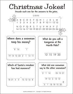 childrens christmas activities printable
