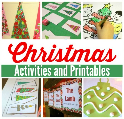 christmas activity pack printable