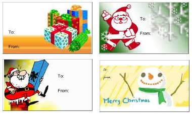 christmas gift tags printable for kids