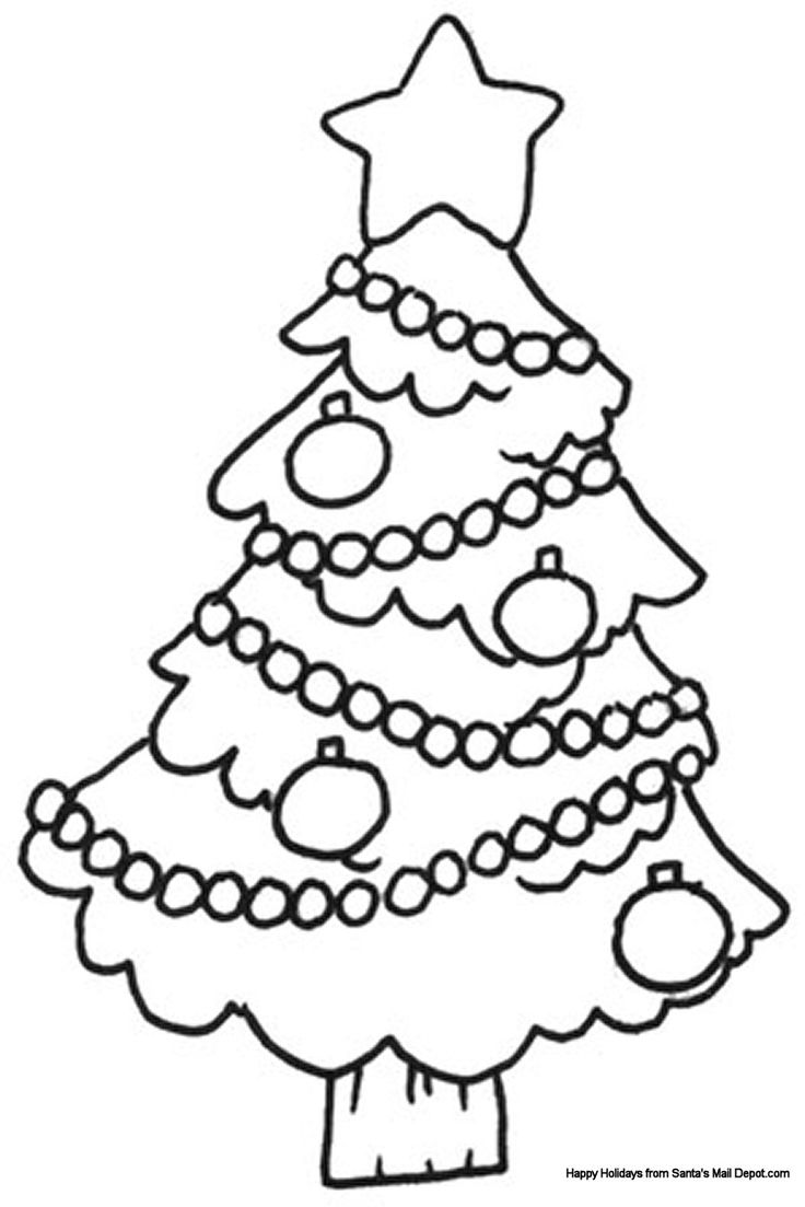 christmas pictures to colour and print for free