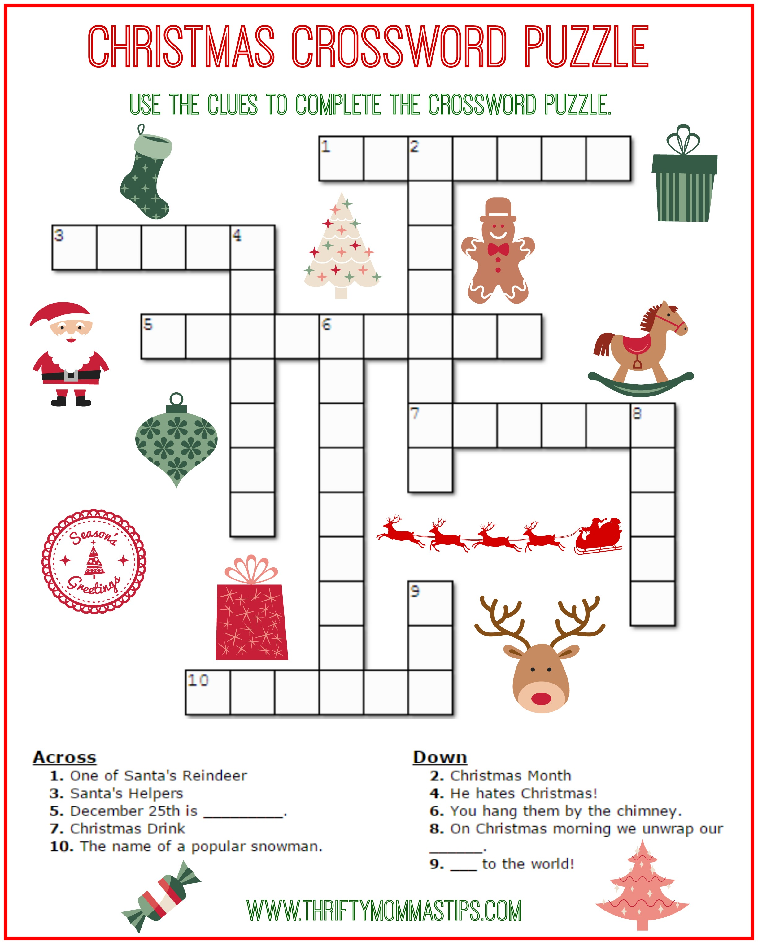 photograph regarding Christmas Word Find Printable Free known as Xmas Term Locate Printable Free of charge - Xmas Printables