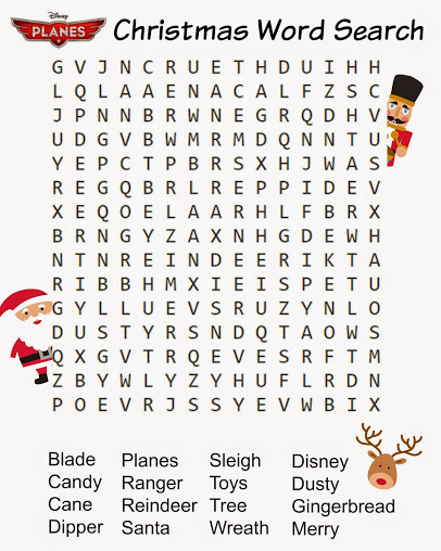 christmas word find printable free
