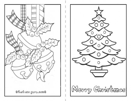 color and print christmas cards