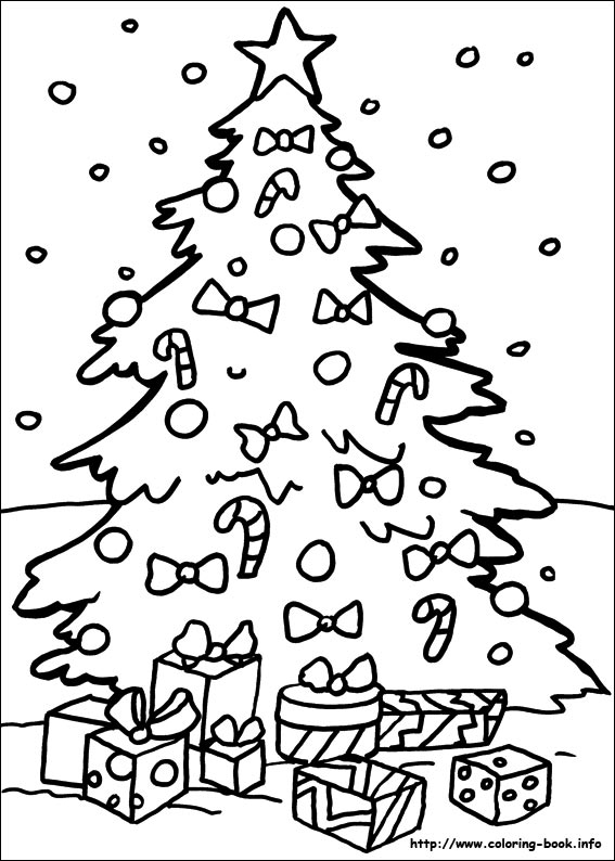 coloring book printables for christmas
