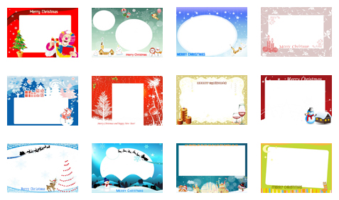 create printable christmas cards