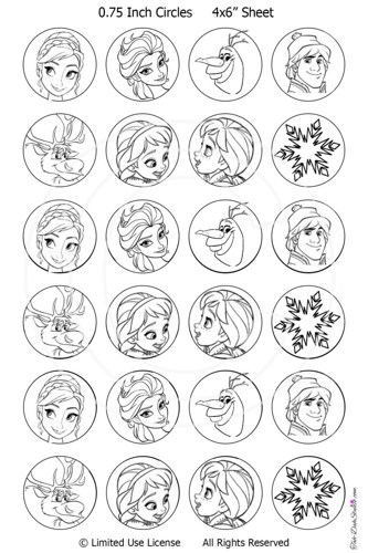 disney frozen printables for christmas