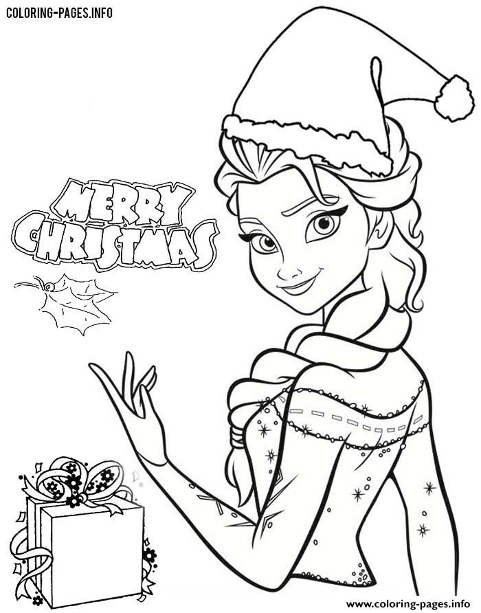 Christmas Coloring Pages Disney.Disney Frozen Printables For Christmas Christmas Printables