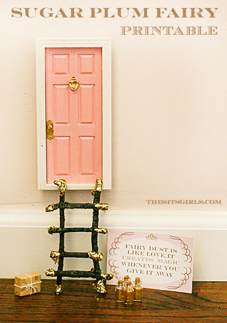 elf door printable
