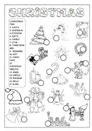 english printables for christmas
