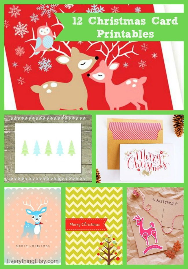 etsy printables for christmas