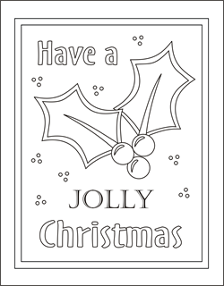 for kid printables for christmas