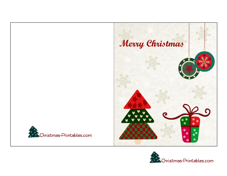 free christmas card designs to print