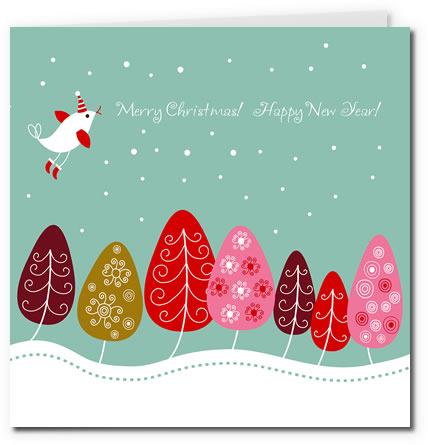free christmas cards to print