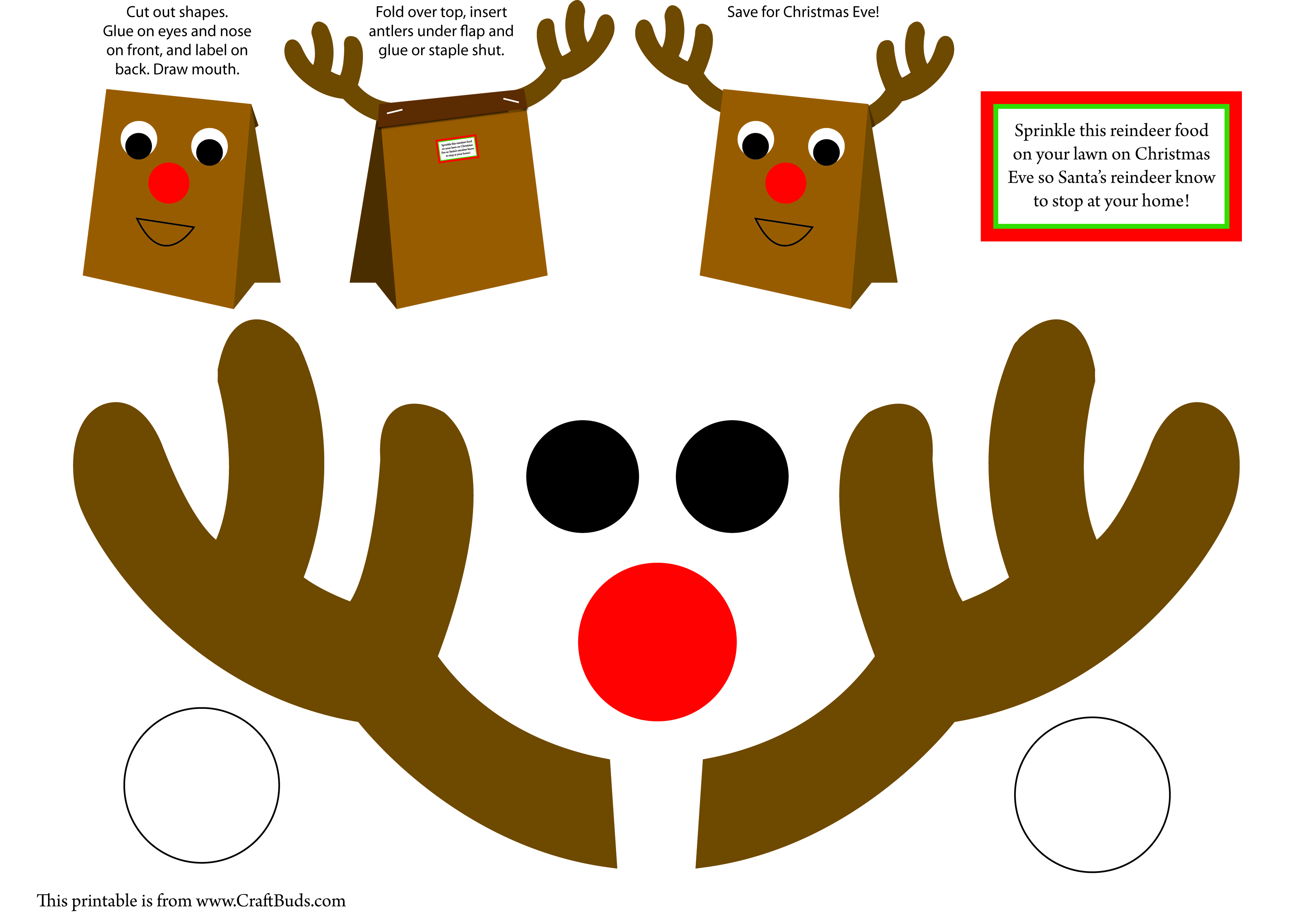 free printable christmas arts and crafts for kids