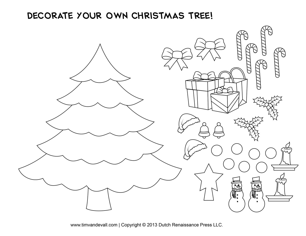 free printable christmas craft templates