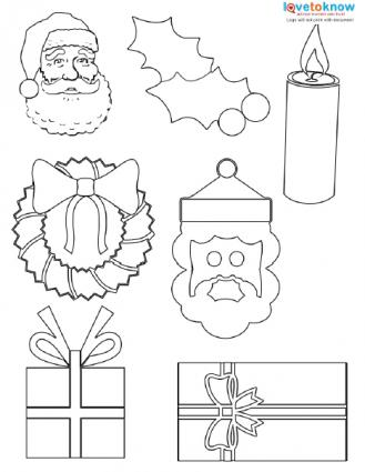 free printable christmas cutouts