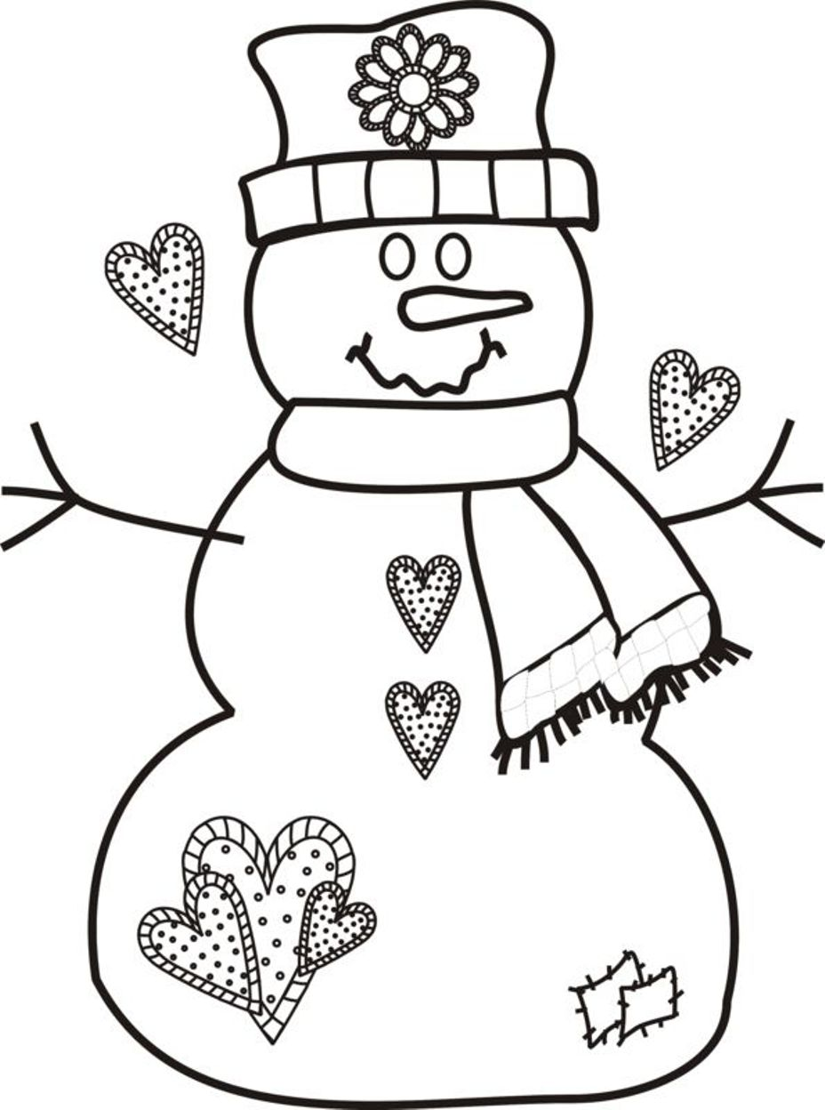 free printable christmas drawings
