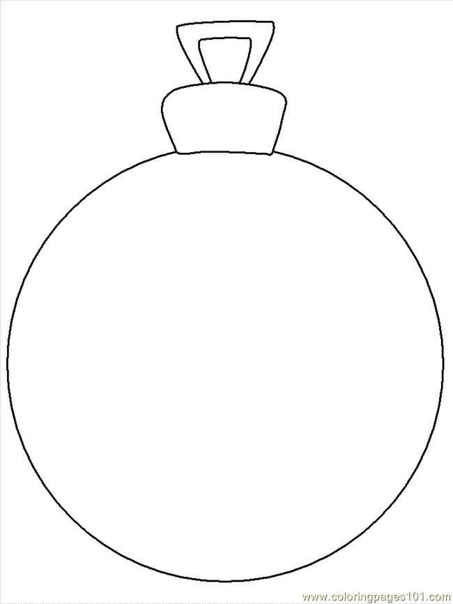 ornament printable coloring pages - photo#33