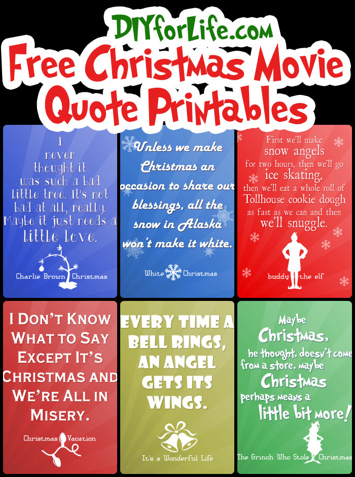 free printable christmas quotes