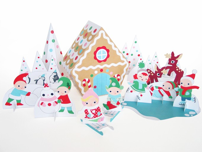 free printable paper christmas decorations
