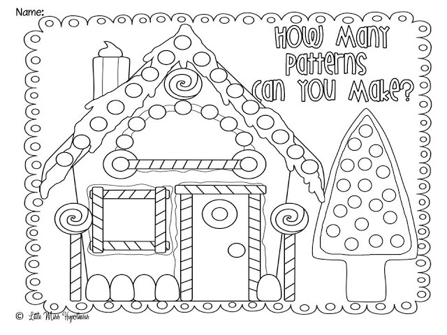 gingerbread house printables for christmas