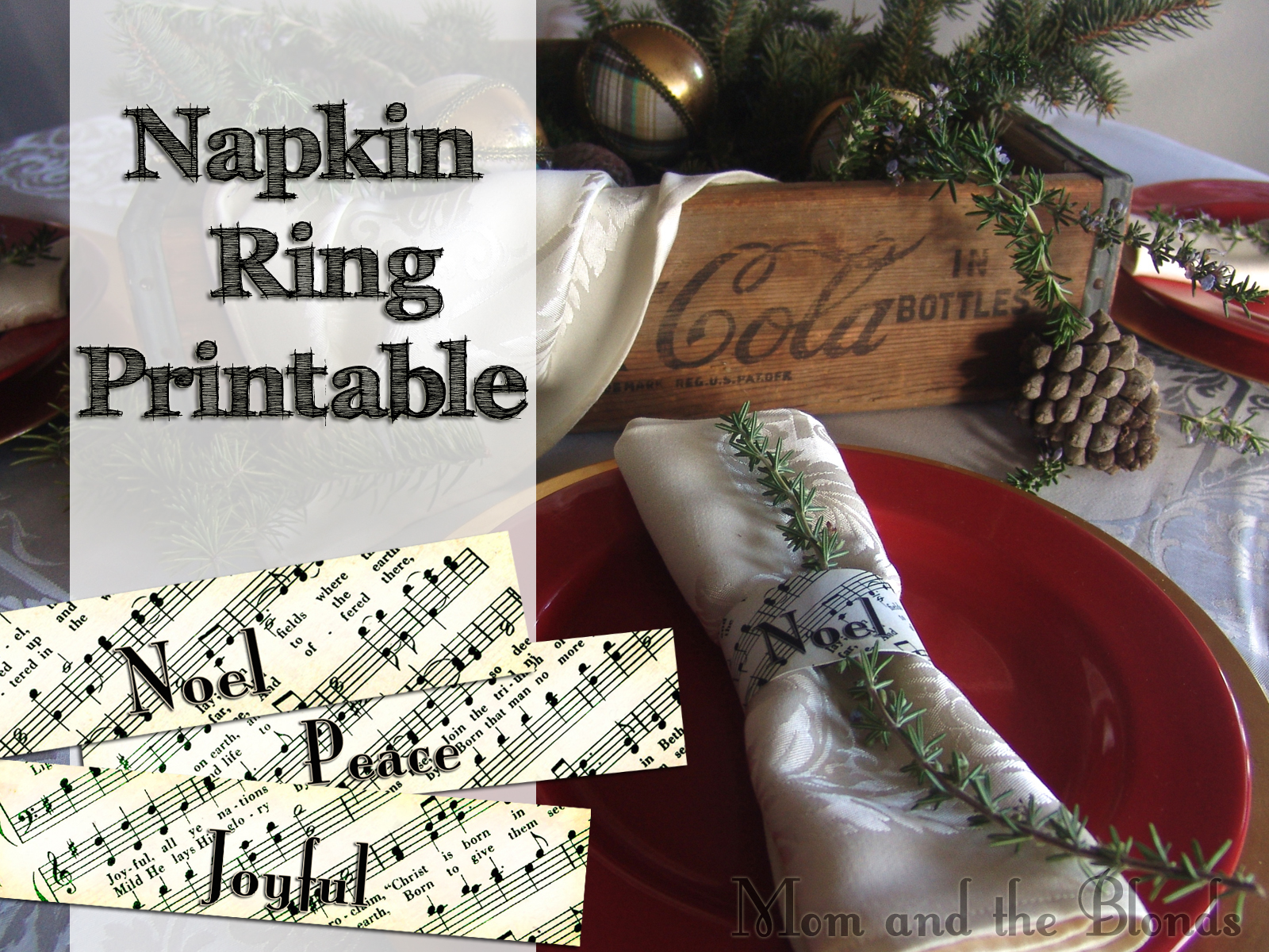 napkin ring printables for christmas