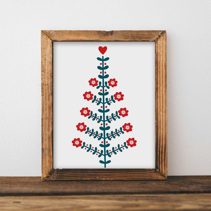 nordic printables for christmas