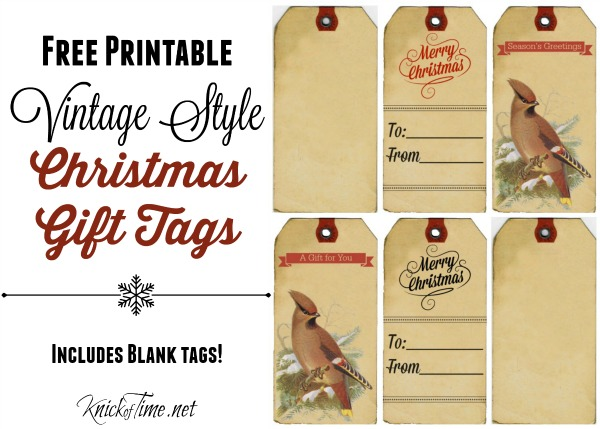 old fashioned printables for christmas