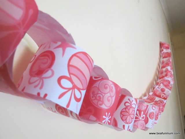 paper chain printables for christmas