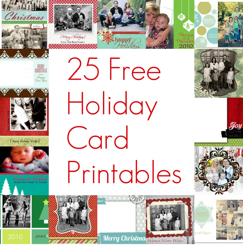 print christmas cards at home
