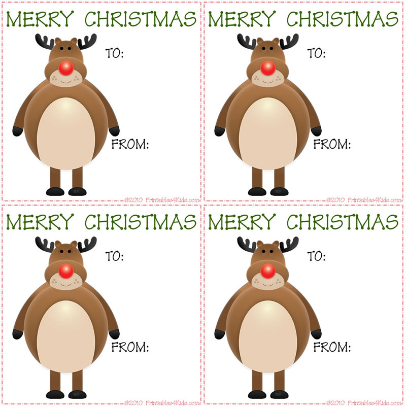 printable childrens christmas gift tags