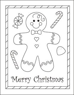 printable christmas card templates for kids