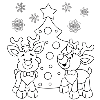 Printable Christmas Colouring In Sheets Christmas Printables