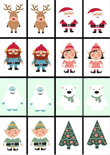 printable christmas games for preschoolers