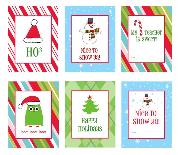 printable christmas gifts