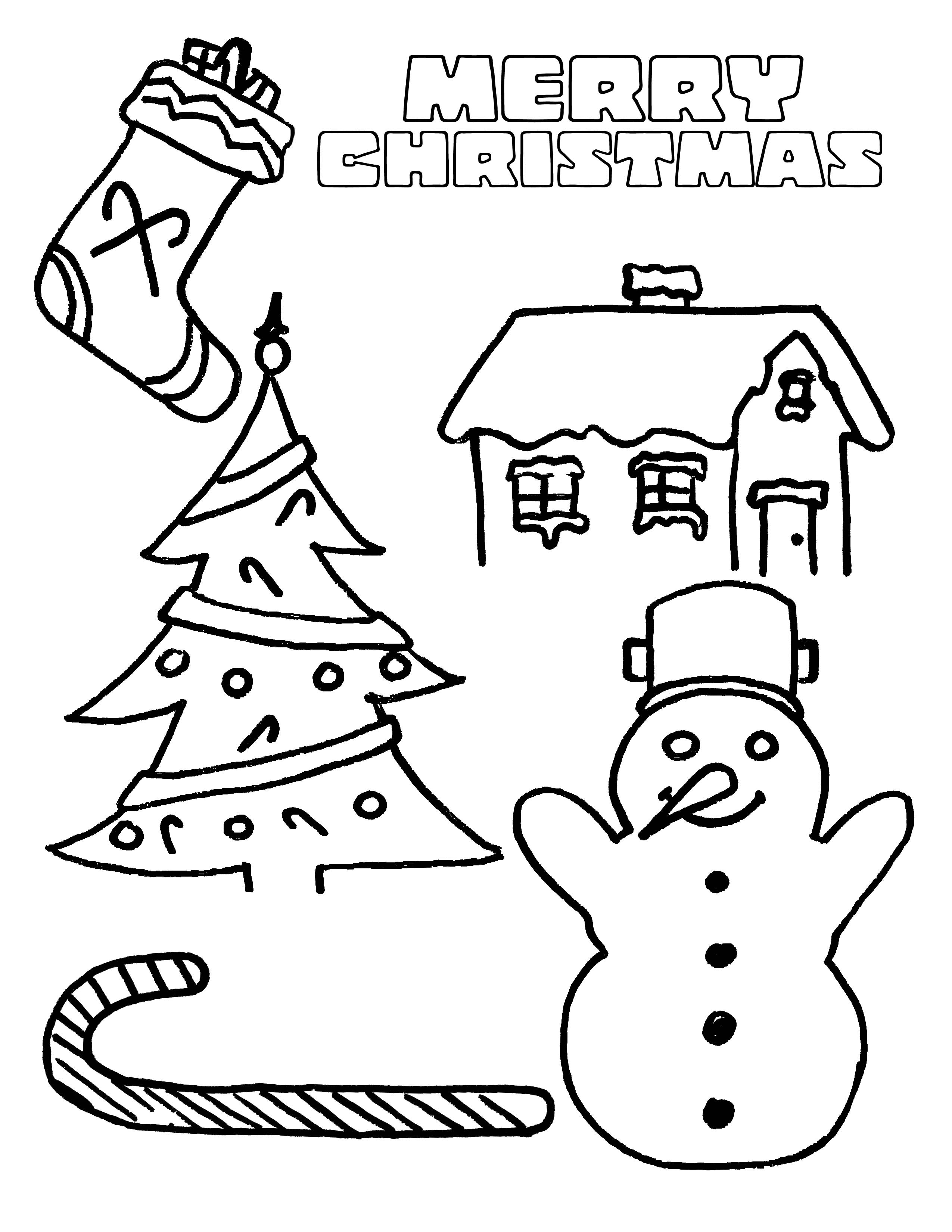 printable christmas pictures for children