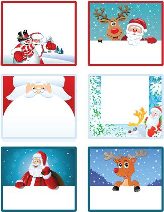 printable christmas tags for kids