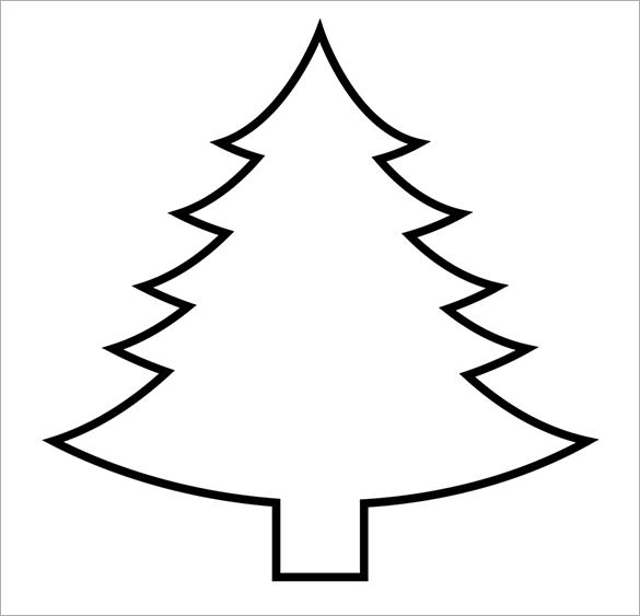 printable christmas tree pictures