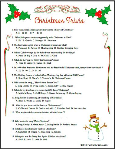 printable christmas word games