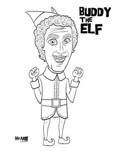 printable elf bodies