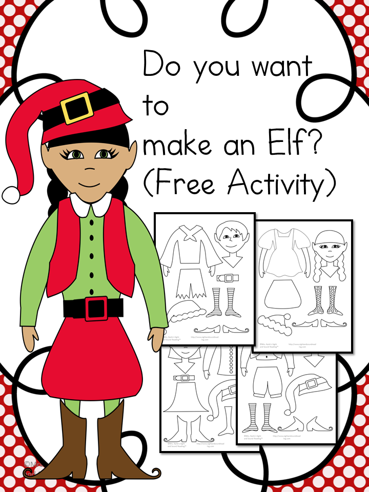 printable elf craft