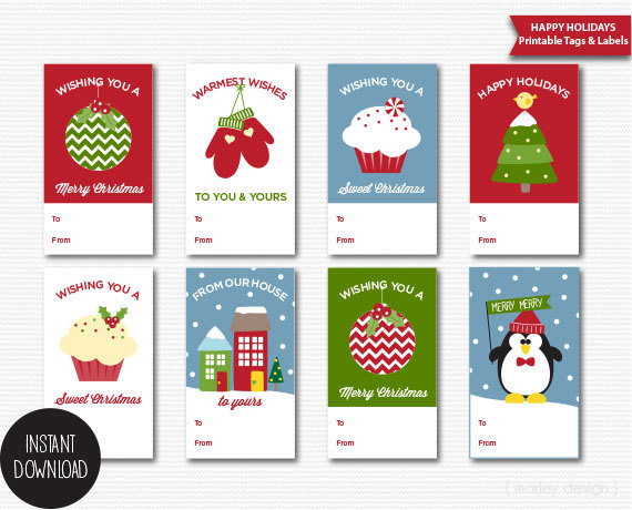 printable pictures of christmas items