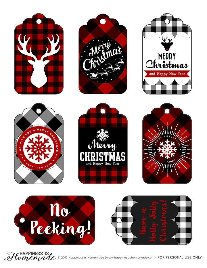 red printables for christmas