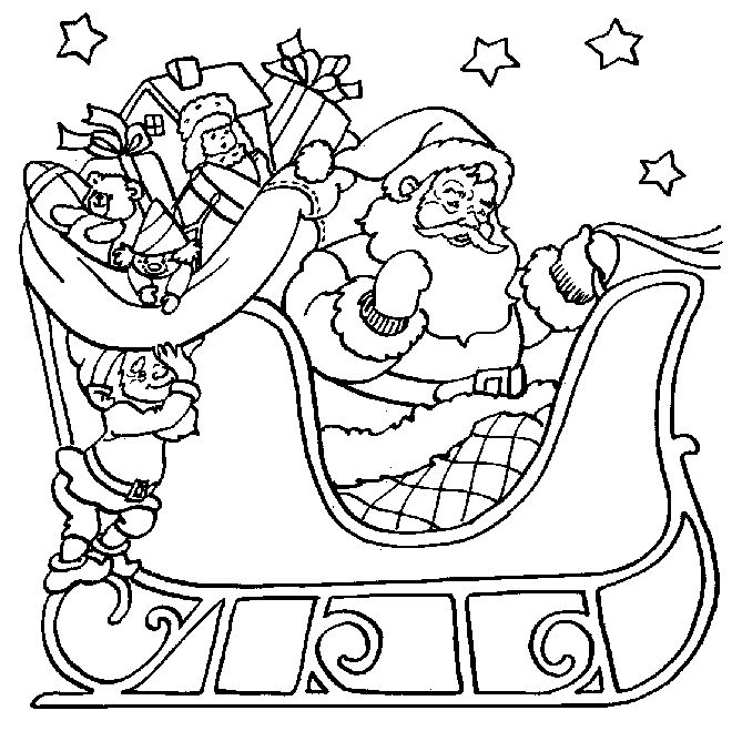 santa printables for christmas