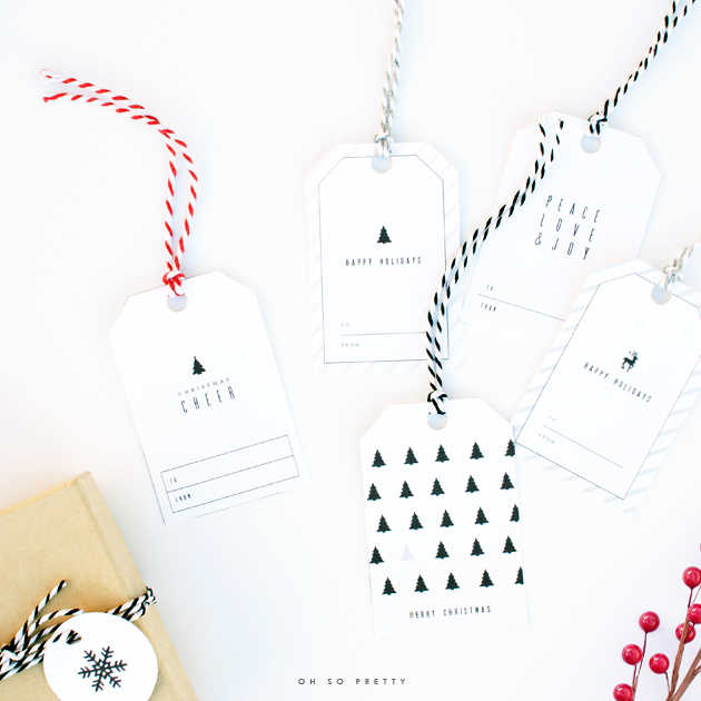 simple printables for christmas