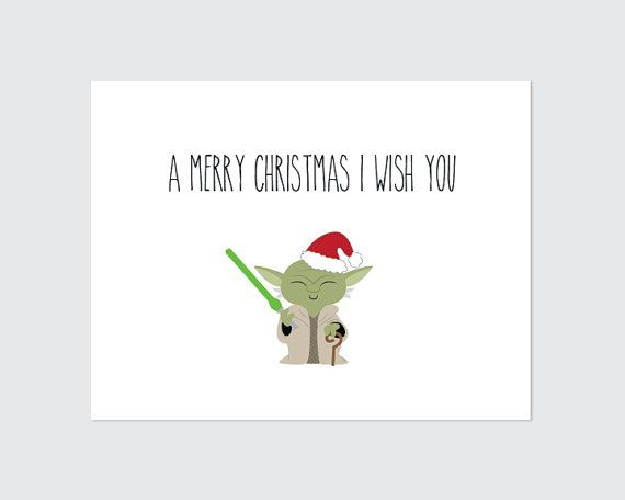 photo relating to Star Wars Printable Cards named Star Wars Printables For Xmas - Xmas Printables