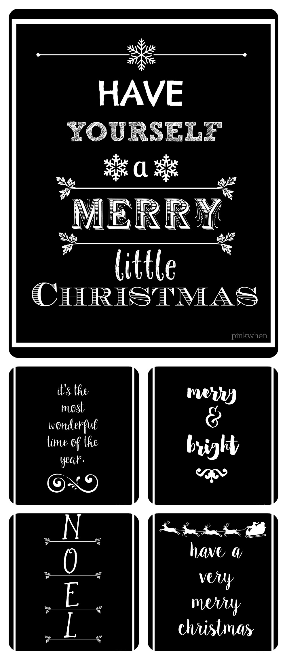 graphic relating to Printable Christmas Cards Black and White identified as Black And White Printables For Xmas - Xmas Printables