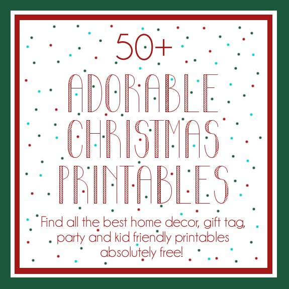 christmas booklets printable free